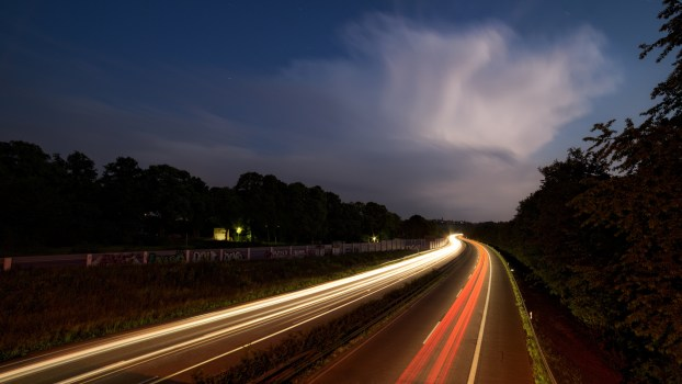 Cars Wallpaper Download For Pc Light Trails On Highway At Night 183 Free Stock Photo