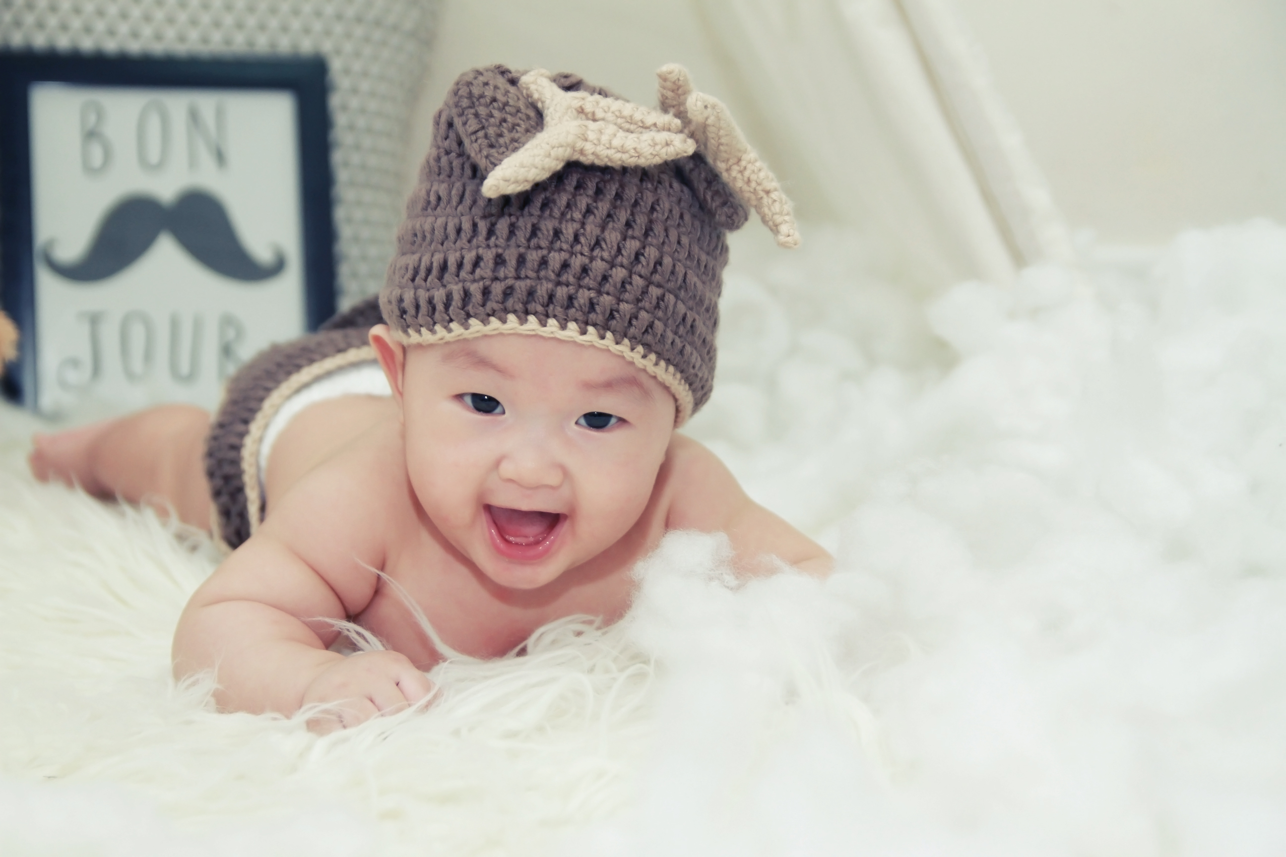 Boy And Girl Hd Wallpaper Baby Smiling 183 Free Stock Photo