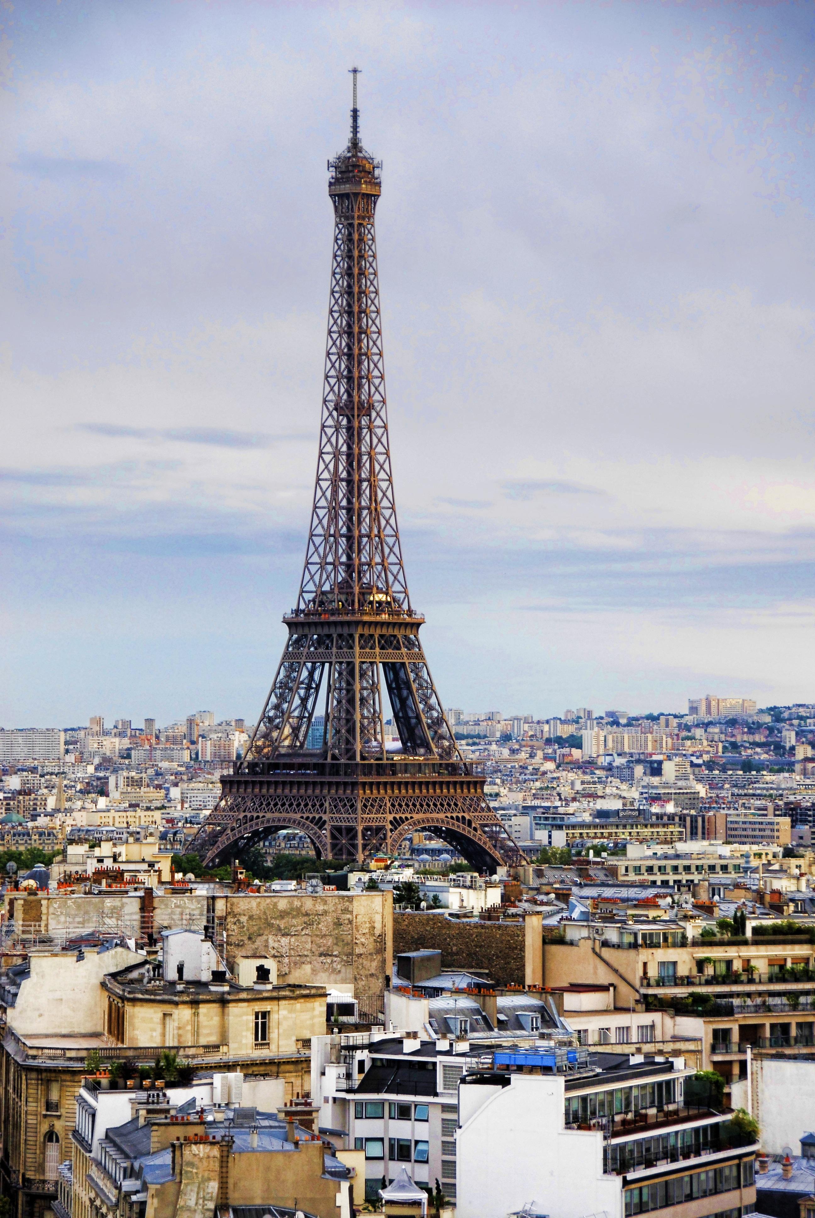 Teen Girl Hd Wallpaper Eiffel Tower During Daytime 183 Free Stock Photo