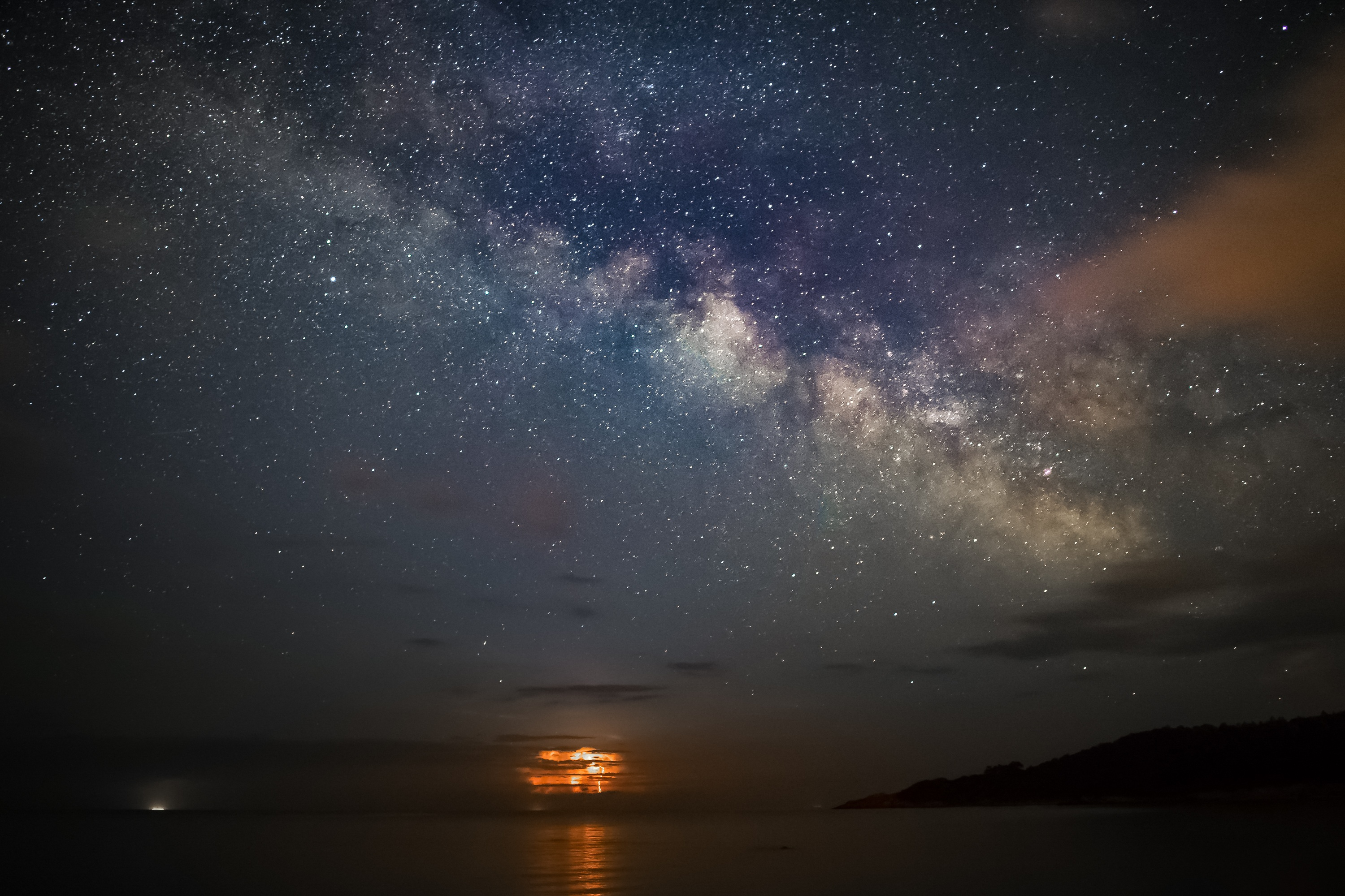 Beautiful Iphone 5 Wallpapers Free Stock Photo Of Astrophotography Background Corsica