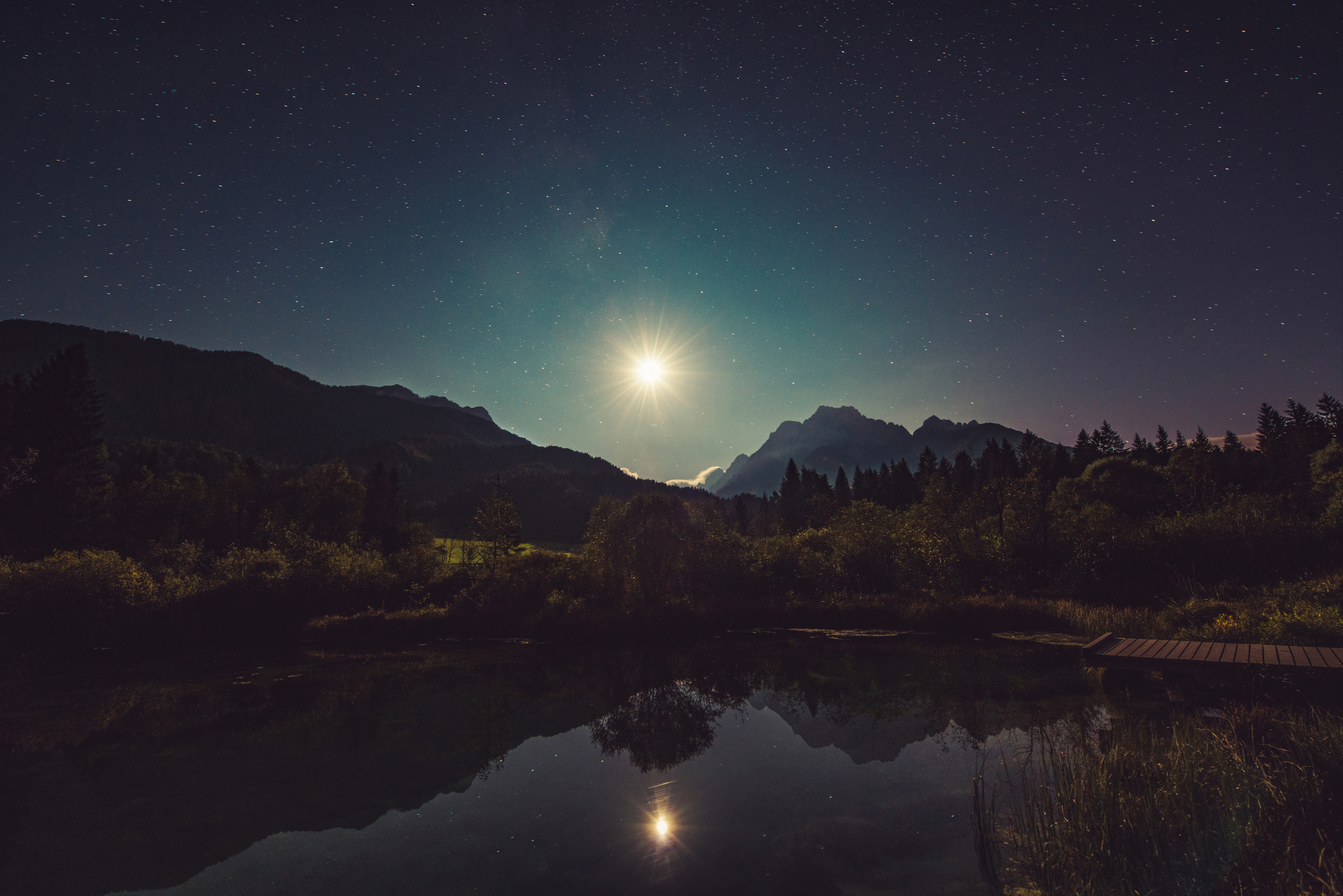 Nature Hd Wallpapers For Iphone Worm S Eye View Photography Of Starry Night 183 Free Stock Photo