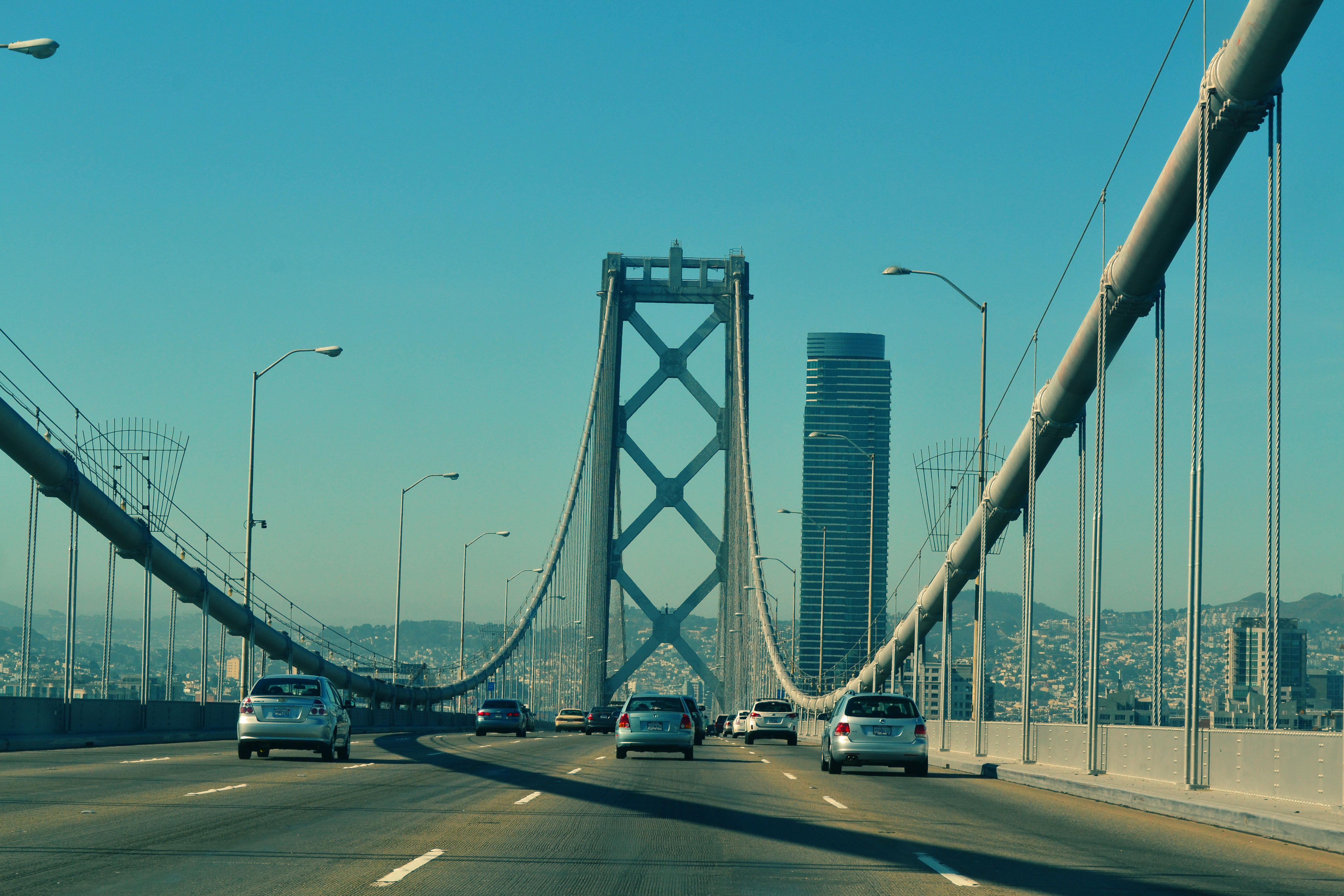 Large Size Wallpapers Of Cars Free Stock Photo Of Bridge Cars Driving
