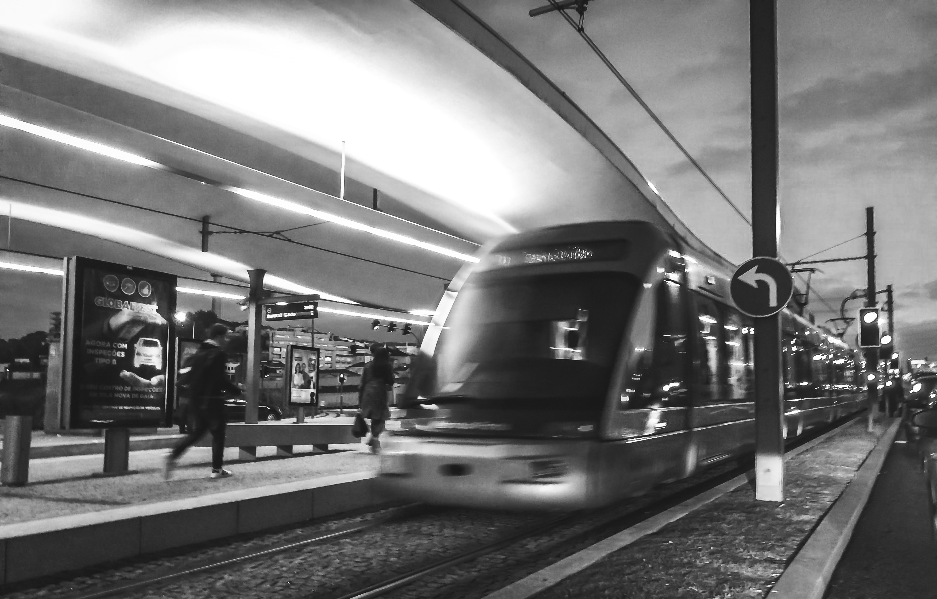 Beautiful Iphone 5 Wallpapers Timelapse Photo Of Greyscale Train Passing By 183 Free Stock