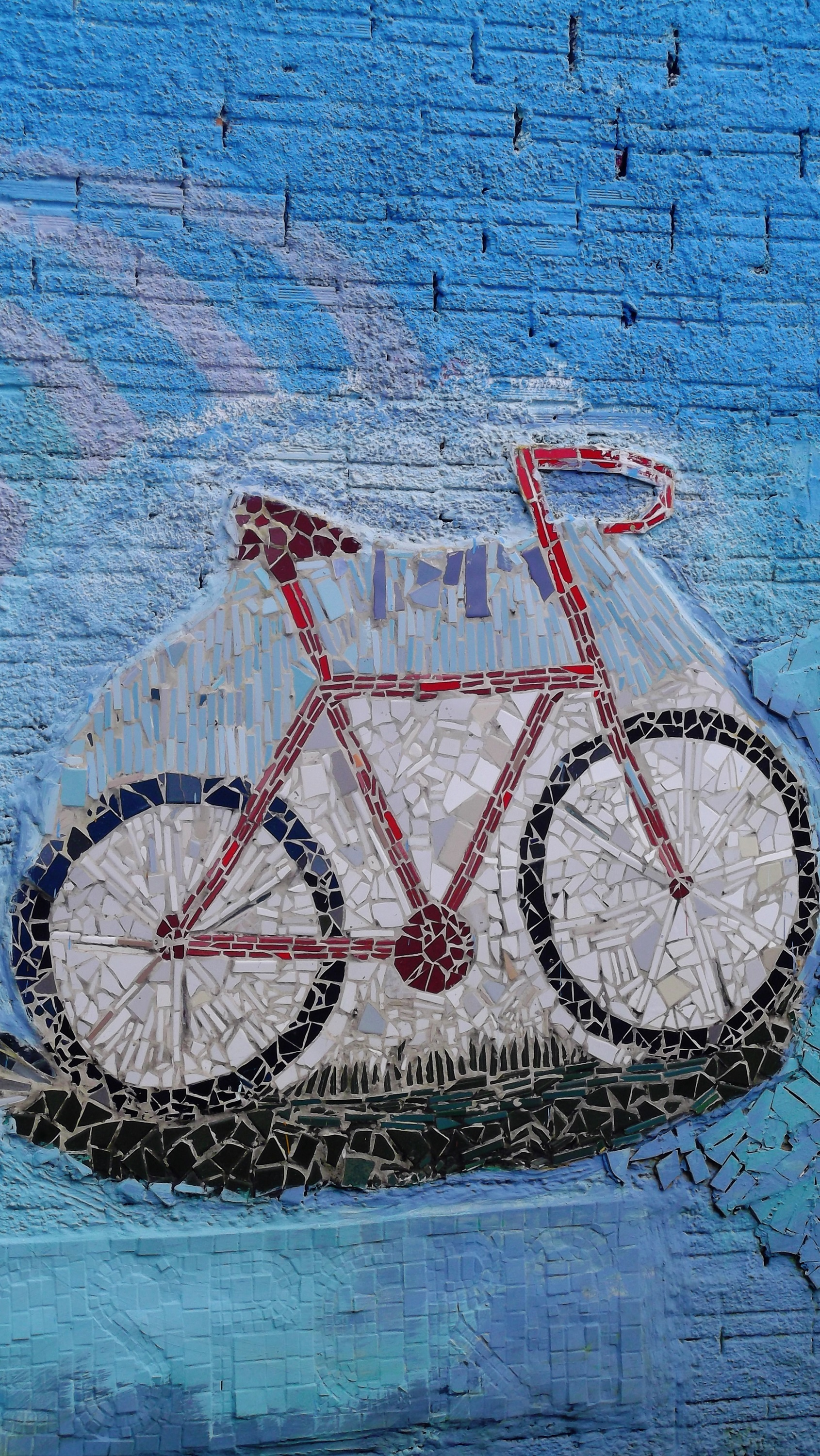 Hd Love Wallpapers For Mobile Free Download Free Stock Photo Of Art Bike Mosaic