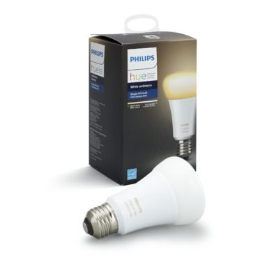 Where To Buy Philips Hue Bridge Hue White Ambiance Single Bulb E26 046677461003 | Philips