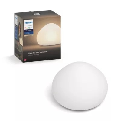 Eclairage Exterieur Homekit Hue White Ambiance Lampe De Table Wellner 4100531u7 Philips