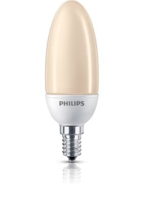 Philips Softone Flame Softone Spaarlamp Kaars 8727900905205 Philips