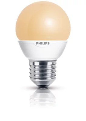 Philips Softone Flame Softone Spaarlamp Kogel 8727900905243 Philips