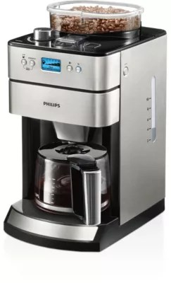 Kaffeemaschine Ganze Bohnen Grind And Brew Kaffeemaschine Hd7751 00 Philips