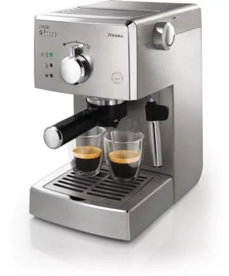 Philip Saeco Poemia Manual Espresso Machine Hd8327 47 Saeco