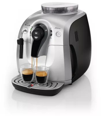 Philip Saeco Xsmall Super Automatic Espresso Machine Hd8745 47 Saeco