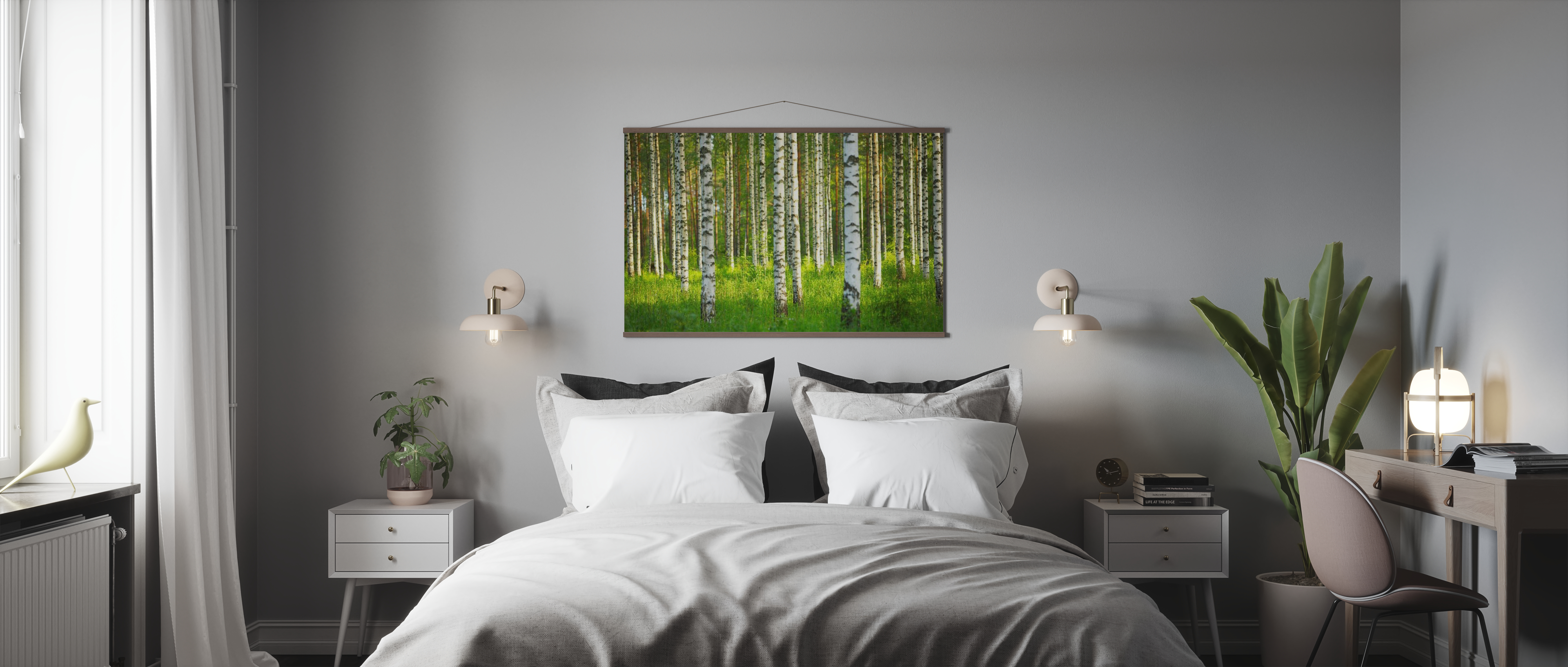 Birch Forest Trendiges Poster Photowall