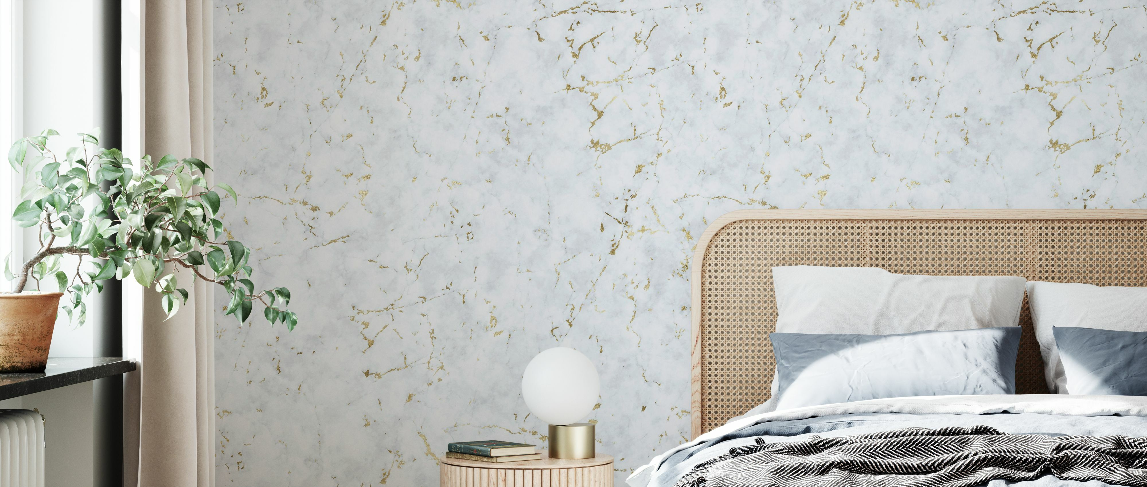 Marble Spanish Gold Moderne Tapete Photowall