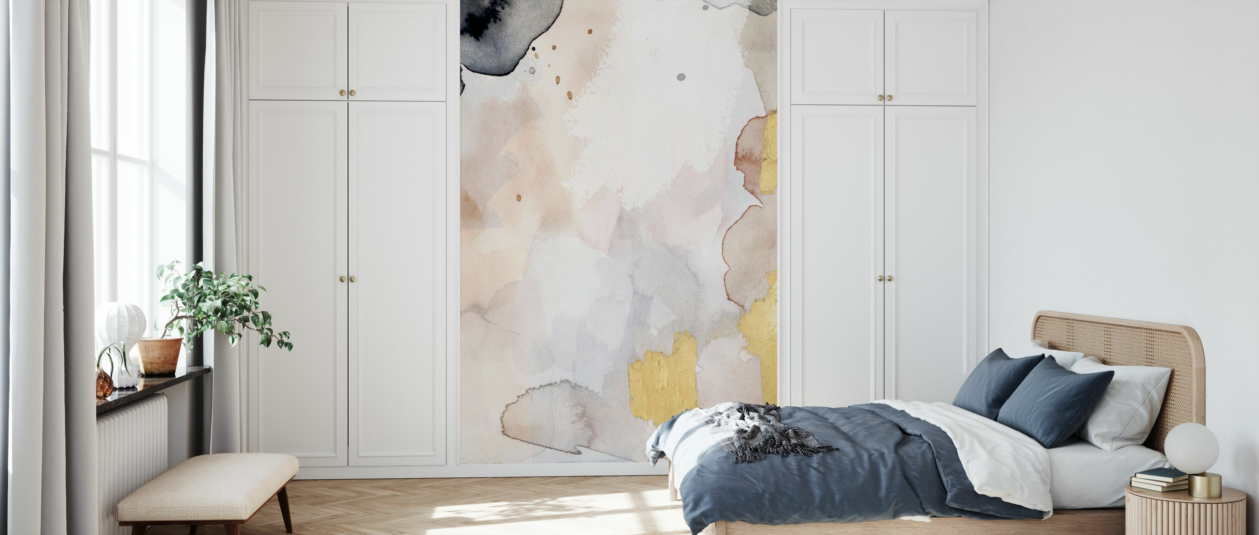 Indigo Blush And Gold I Mit Fototapeten Einrichten Photowall