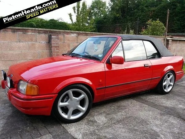 Formula 1 One Race Car Wallpaper Bright Shed Of The Week Ford Escort Xr3i Convertible Pistonheads