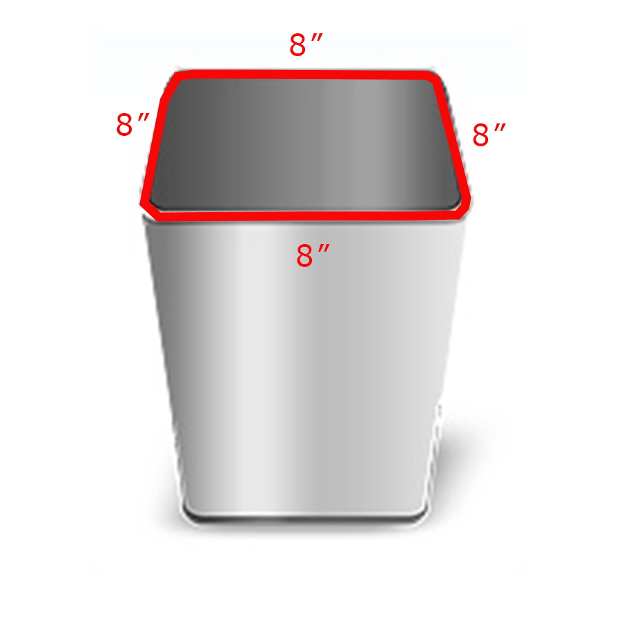 Metal Indoor Trash Can What Size Trash Bag Do I Need 2 Easy Steps Plasticplace