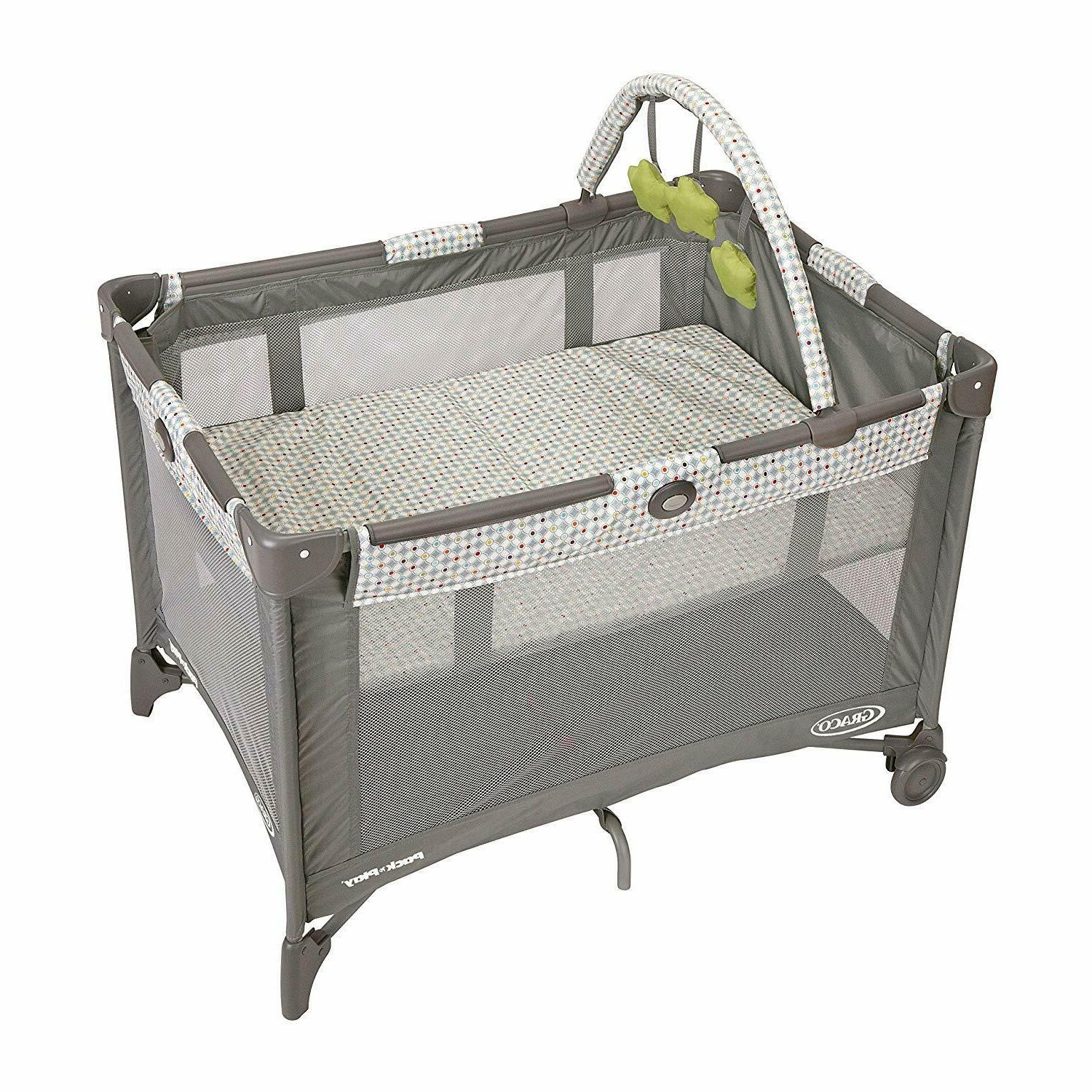 Graco Newborn Bassinet Baby Bed Playard Portable Bassinet Changing Table Travel