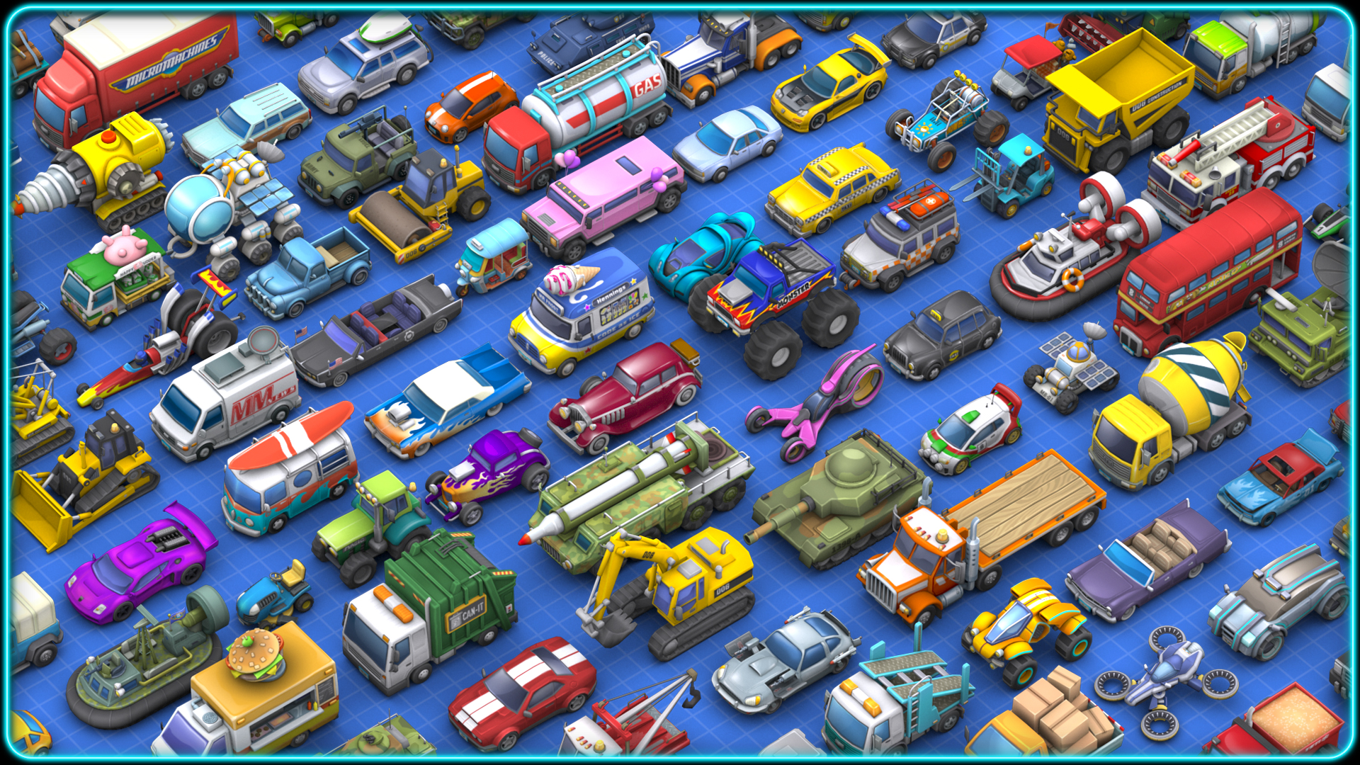 Ios 6 Wallpaper Hd Micro Machines Is Back Toybox Turbos To Be Released As