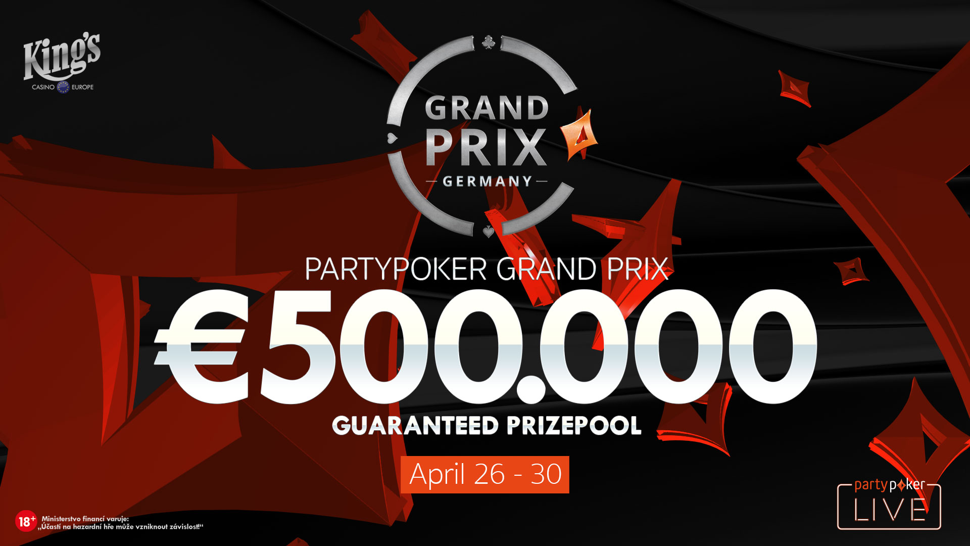 Prix Live Poker Partypoker Grand Prix Germany Pokerfirma
