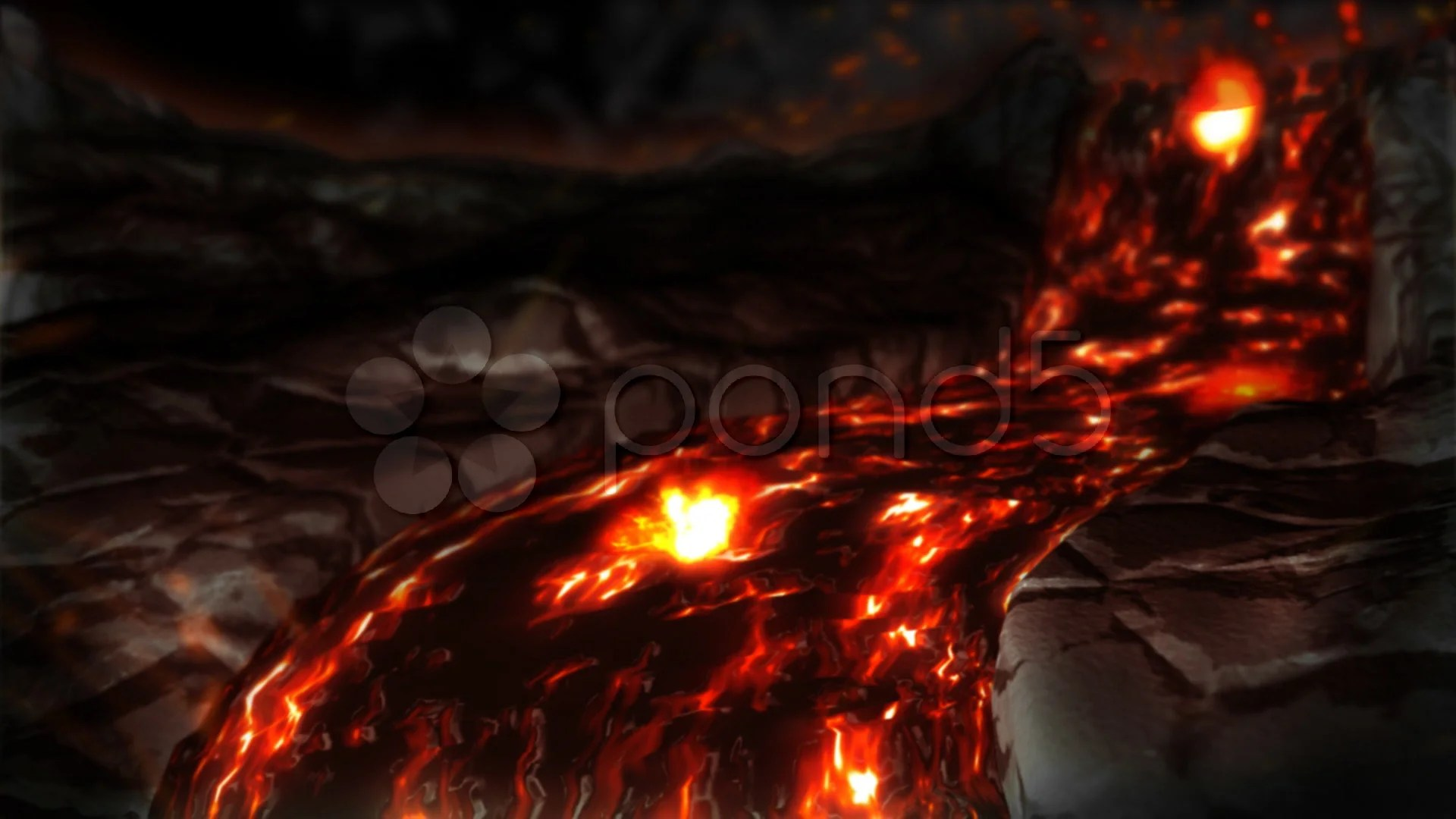 Cool Animal Print Wallpaper Stock Video 3d Animated Lava Flow Buy Now 510124 Pond5