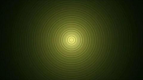 Video Abstract Expanding Circles Animation - Loop ~ #76242729