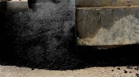 Video Asphalting Machine for paving apply asphalt to road Road