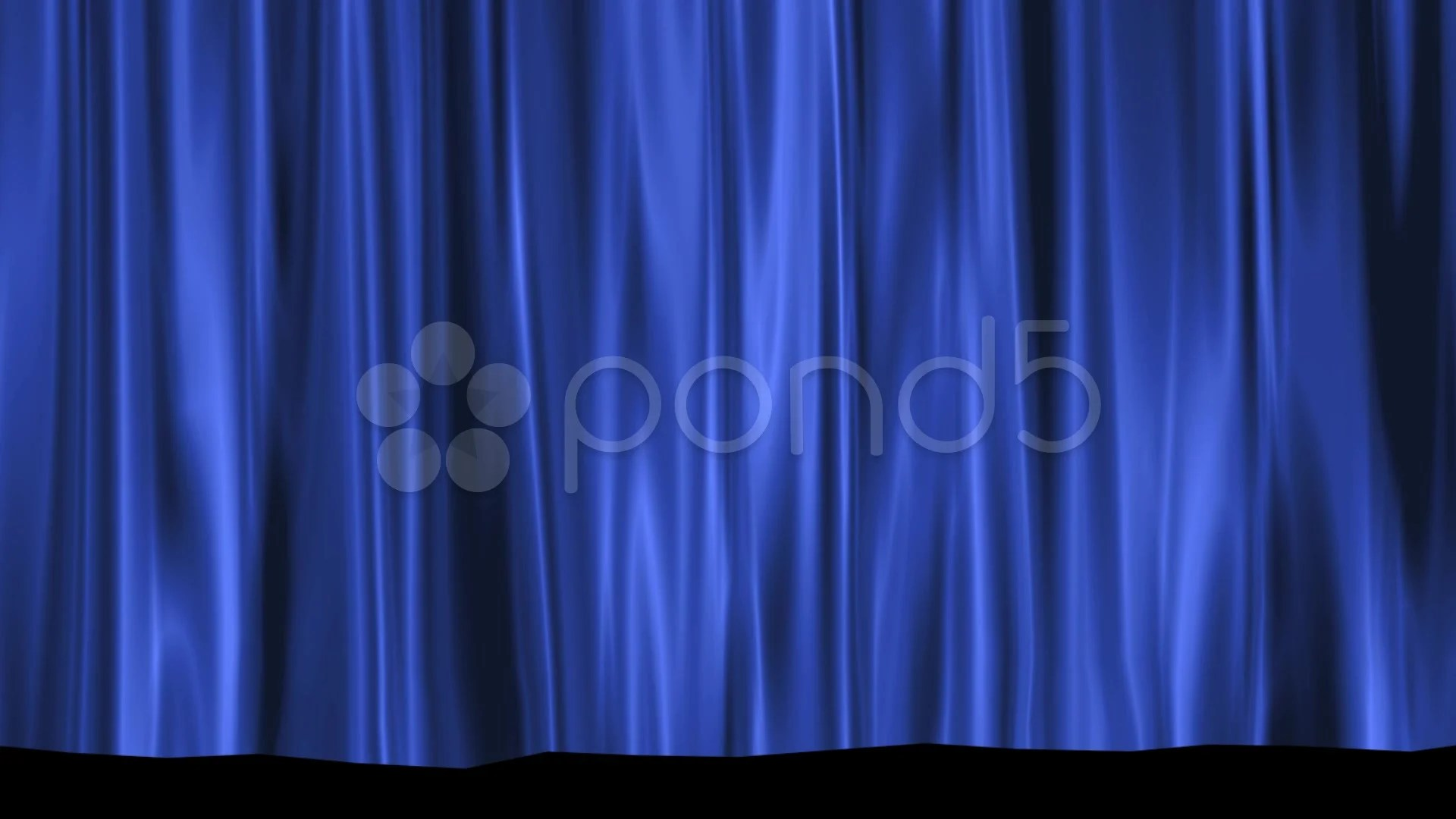 Black And Blue Curtains Hd