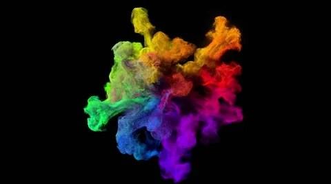 Neon Car Phone Wallpaper Color Explosion On Black Quot Spectrum Quot Video Clip 48583027