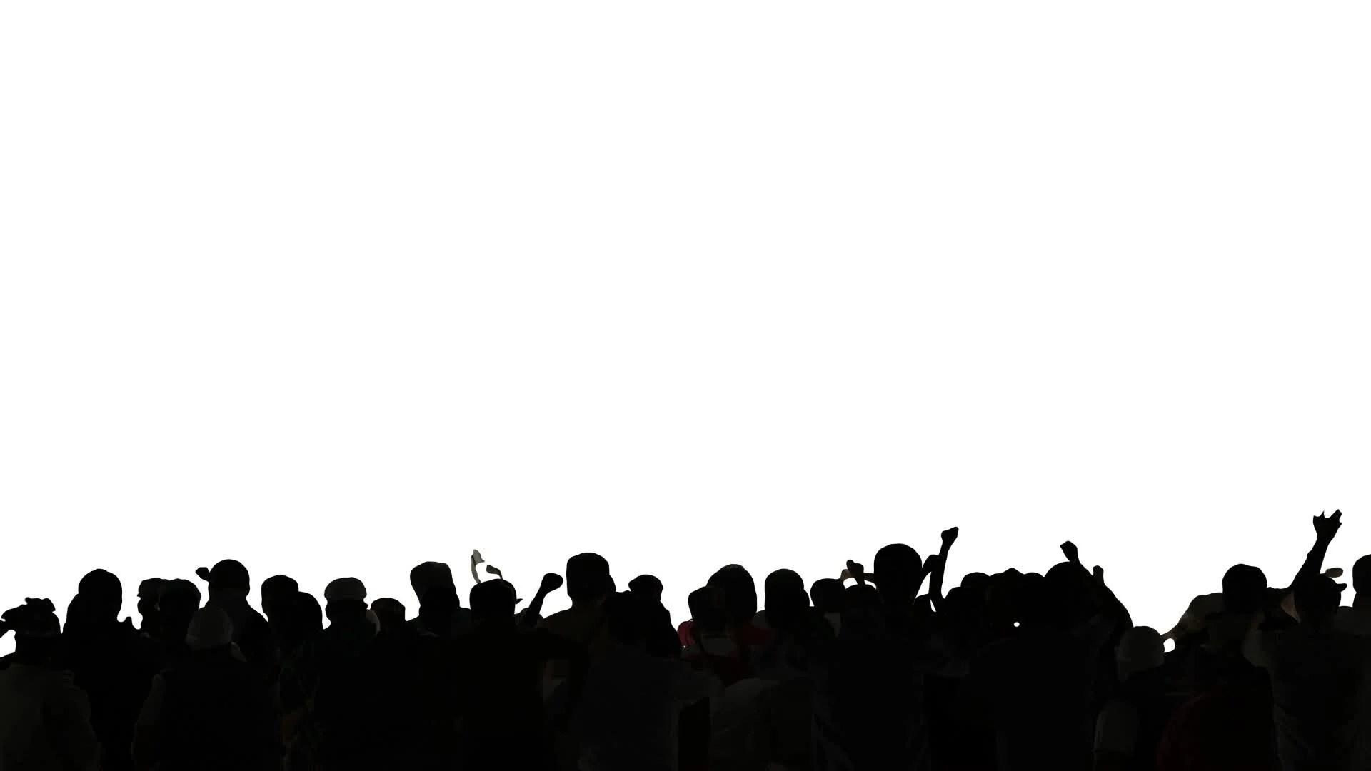 Vintage Car Wallpaper Transparent Video Concert Crowd Dancing Silhouettes Hd 12378774