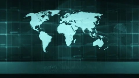 Map of the world, opener technology background generic (diffrent