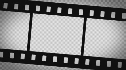 Moving Film Strip Animation Composite ~ Video #59532320