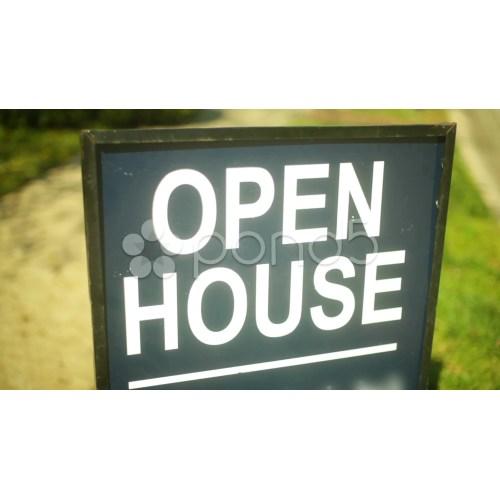 Medium Crop Of Open House Sign