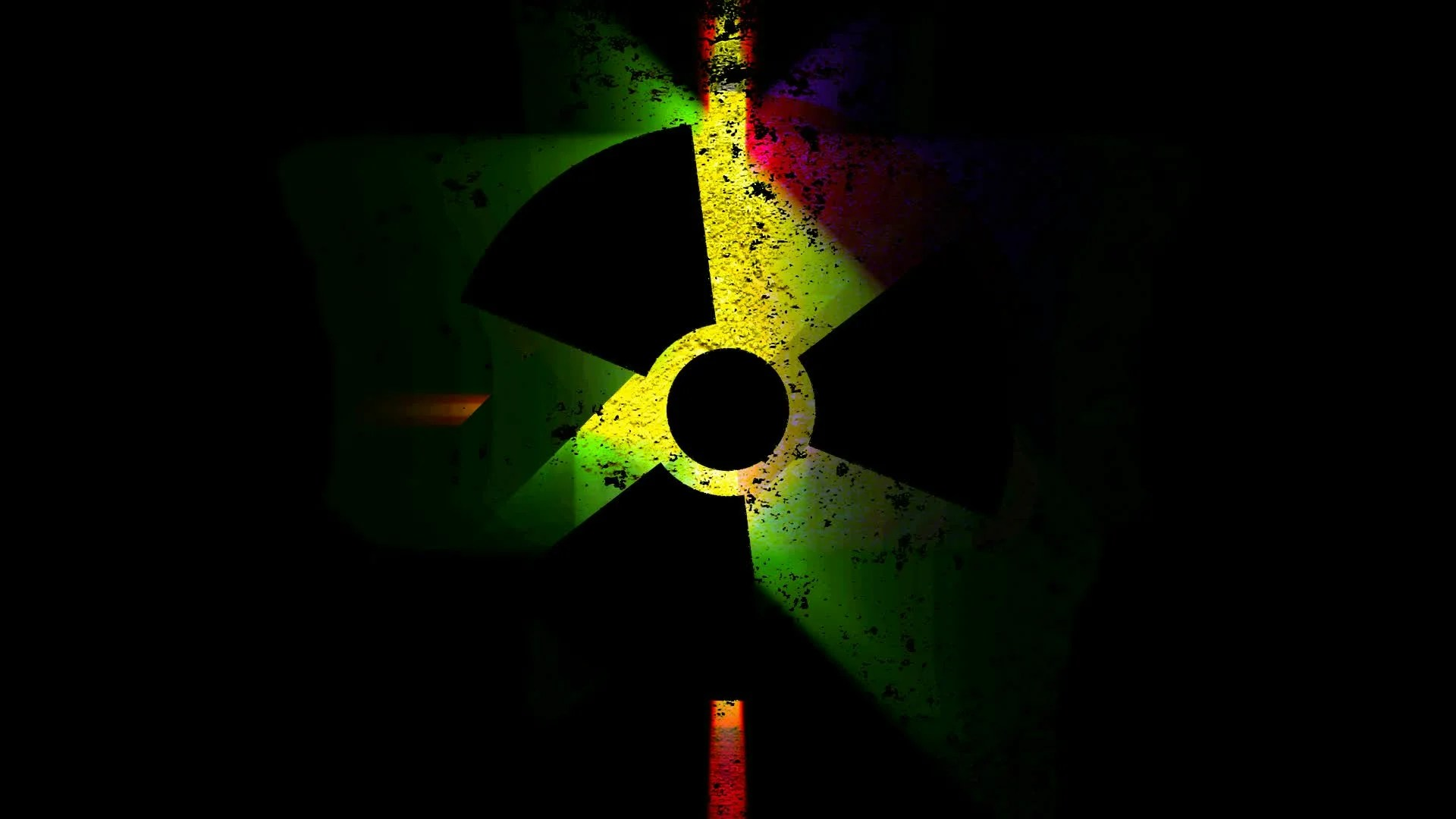 3d Virus Wallpaper Radiation Nuclear Symbol On Video Clip 11495562 Pond5