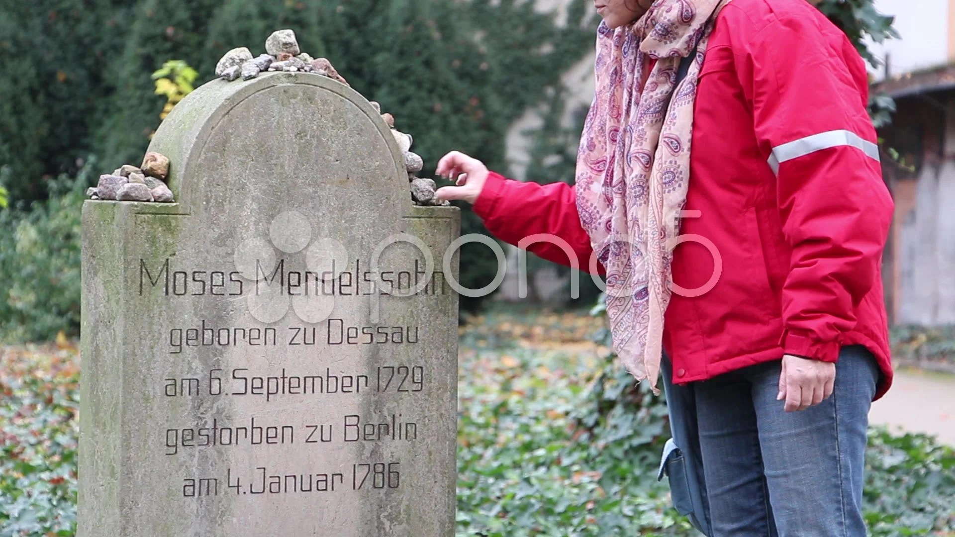 Jewish Cemetery At Grosse Hamburger Strasse In Berlin Germany Hd