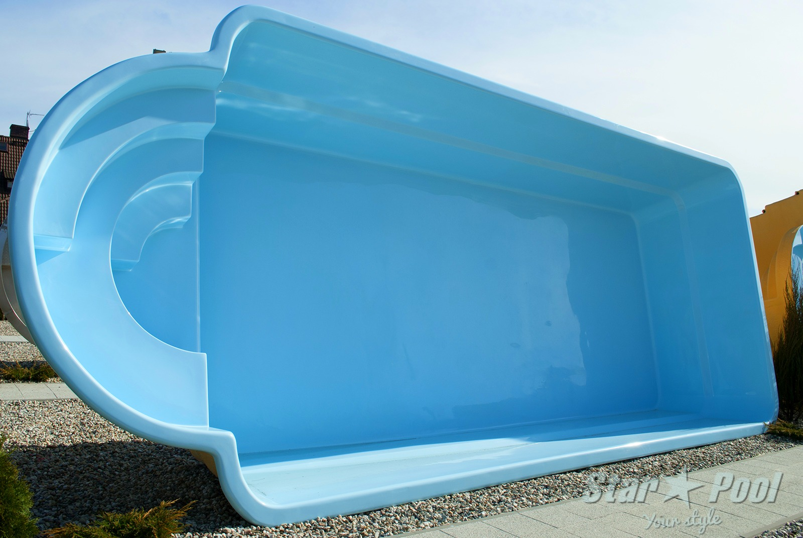 Gfk Pool Factory K In Ground Fiberglass Polyester Garden Swimming Pool