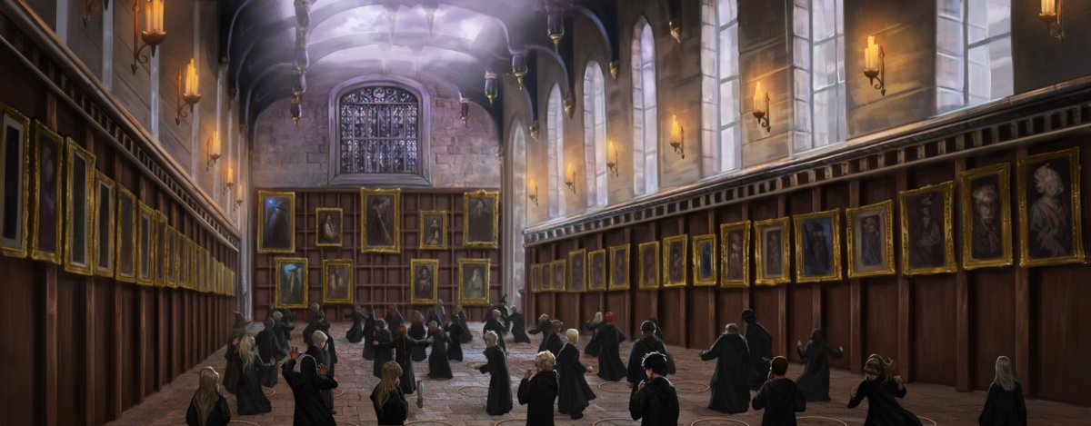 Fall Witch Wallpaper Hogwarts Portraits Pottermore