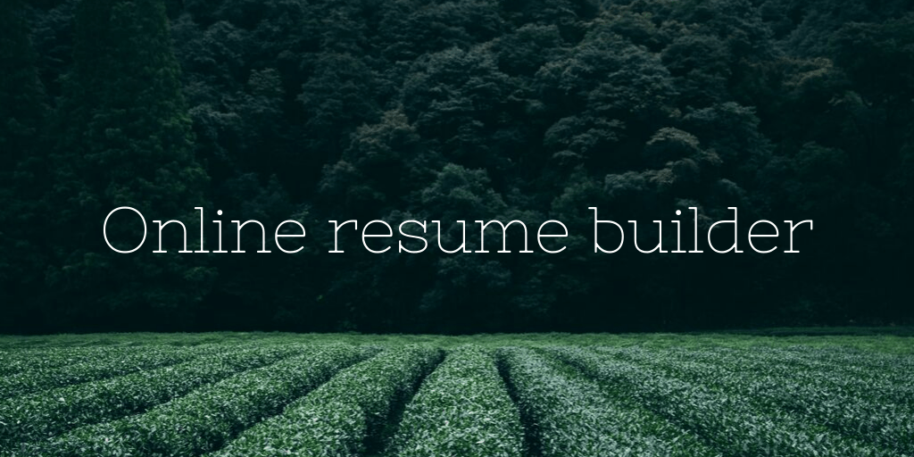 online resume builder project ppt