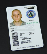 US Army ID Card | Prop Store - Ultimate Movie Collectables