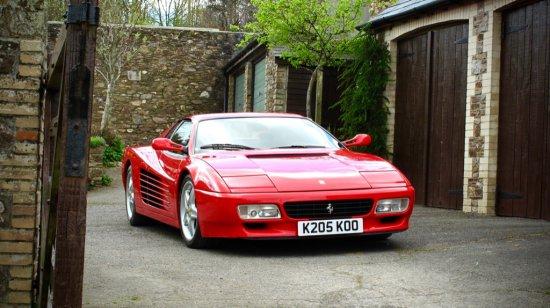 1993 Ferrari 512 TR Auctions Online Proxibid