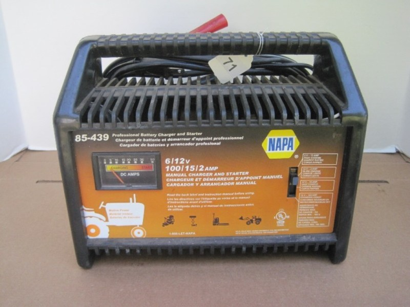 Exciting Lot Napa Battery Napa Battery Napa Battery Charger 85 7512 on