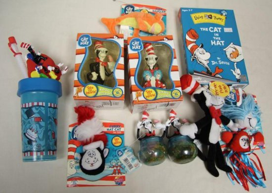 Dr Seuss-Cat in the Hat 10 Pc Auctions Online Proxibid