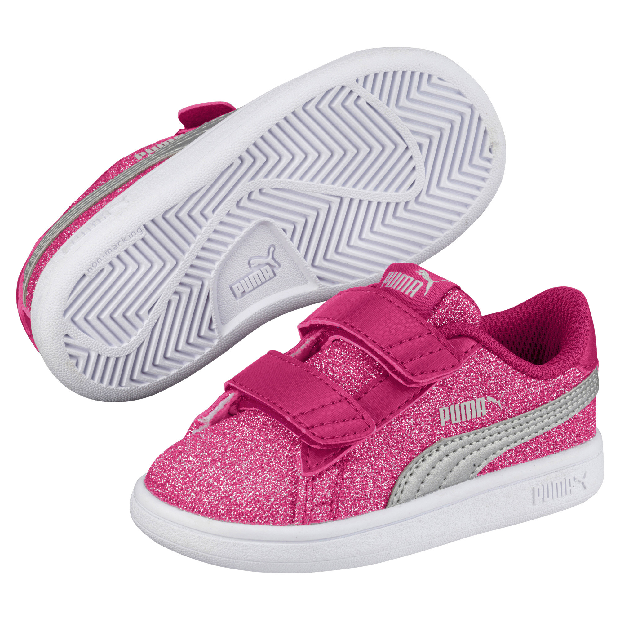 Infant Sneakers Details About Puma Smash V2 Glitz Glam V Infant Sneakers Kids Shoe Kids