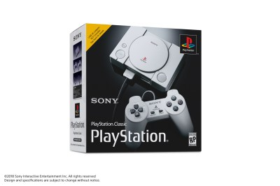 Sony Announces PlayStation Classic Mini Console, Launches 3rd December - Push Square
