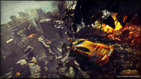 Awesome Race Car Wallpapers Evolution Studios Reinvents Motorstorm Apocalypse With