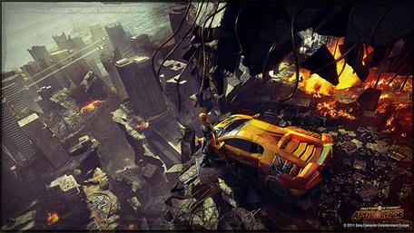 3d Car Wallpaper Full Hd Evolution Studios Reinvents Motorstorm Apocalypse With