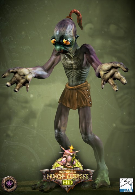 All 3d Wallpaper Hd Introducing Abe From Oddworld Munch S Oddysee Hd Push