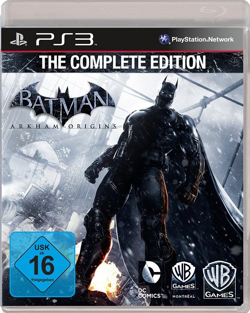 Edition For Ps3 Rumour Batman Arkham Origins Complete Edition May Be Gliding
