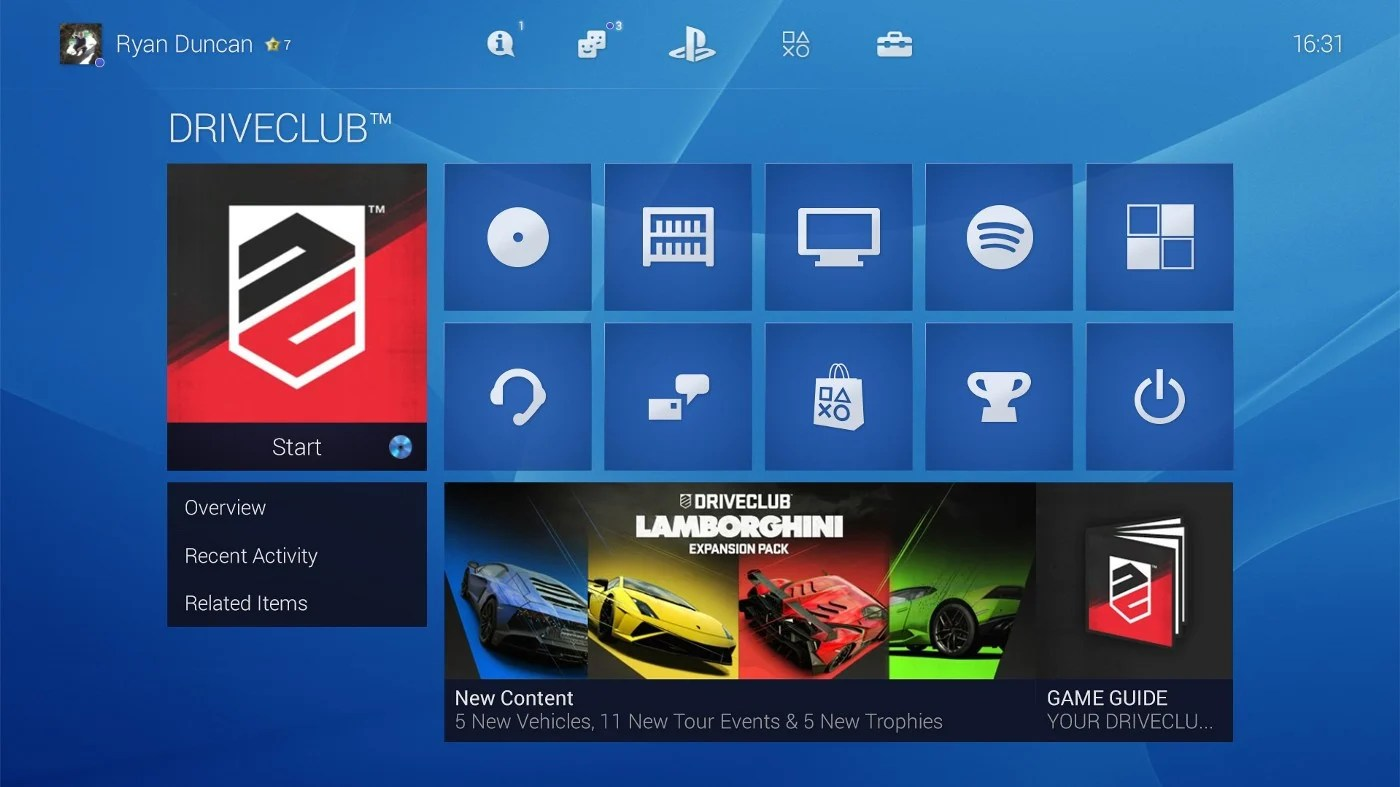 Ps4 Games Hd Wallpapers Is This Redesigned Ps4 User Interface An Improvement