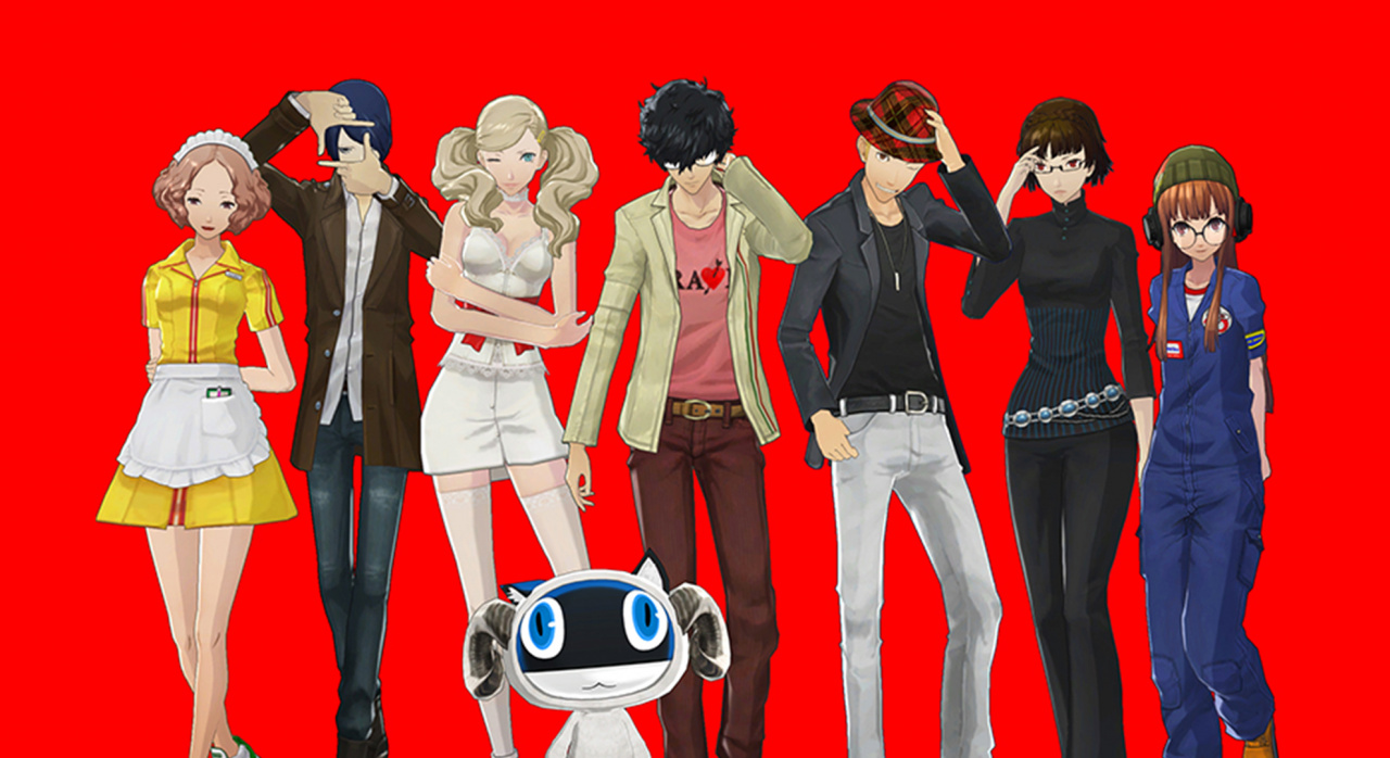 Persona 5 Wallpaper Morgana Cute Persona 5 Dlc Dated Swimsuit Costumes Are Free Push Square