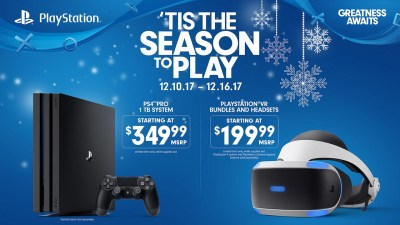 Sony Temporarily Cuts Price of PS4 Pro, PSVR for Christmas - Push Square